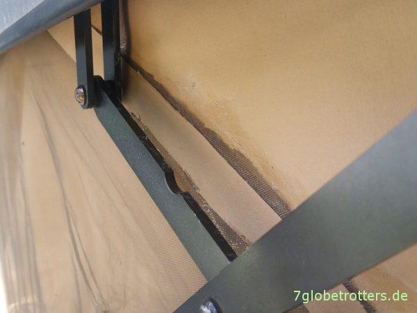 Dachzelt kleben: Textilkleber im 2-Jahres-Test