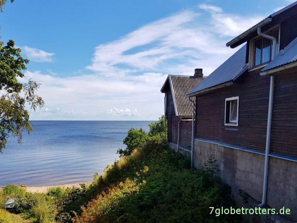 Estland, altgläubige Dörfer am Peipussee, Zwiebelrussen, russische LKWs, Karakatitsa