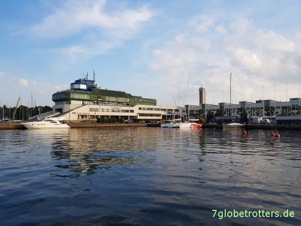 Estland, Hafencamping Tallinn, Olympiazentrum, Pirita Harbour Camping Tallinn