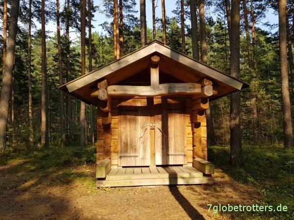 Offizielles Wildcampen in Estland an der Ostsee erlaubt oder verboten