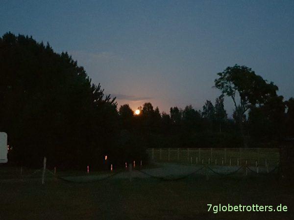 Lettland: Naturcampingplatz Pape und Pape Naturpark Rucava
