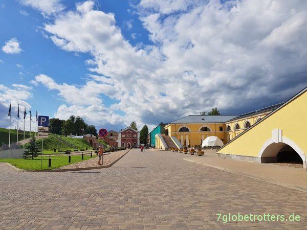 Lettland, Zarenfestung Zitadelle Dünaburg Daugavpils von 1833