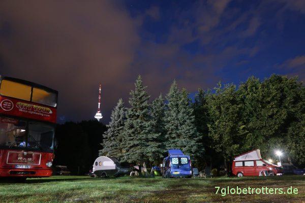 Litauen, Vilnius City Camping Wohnmobilstellplatz Vilnius