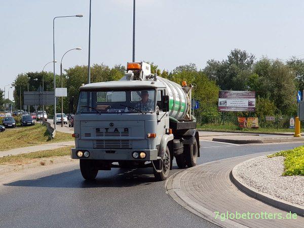 Polen: LKW Star 244