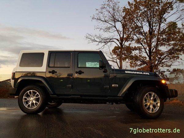 Ideen für ein Aufstelldach auf dem Jeep Wrangler Unlimited JKU