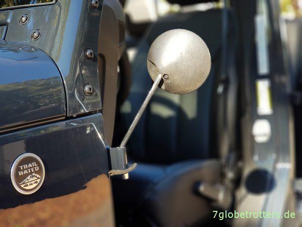 Jeep Wrangler Türen ausbauen - Fahren ohne Türen erlaubt in Deutschland