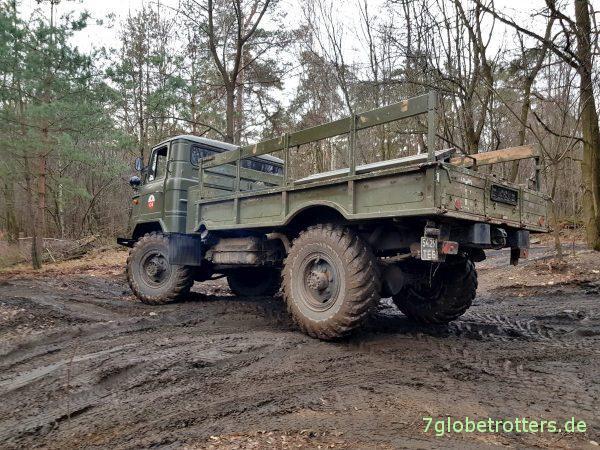 GAZ-66 auf dem Jeep Nikolaus Trail