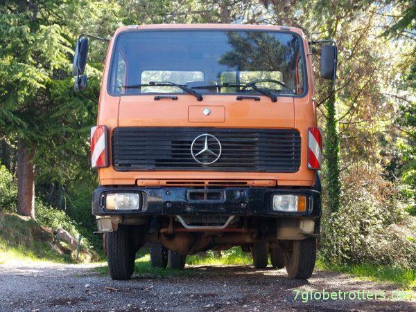 Mercedes-Benz MB 1222 AK Allrad Kipper