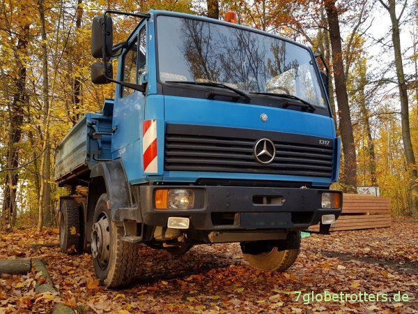 Mercedes 1317 AK Allrad Kipper
