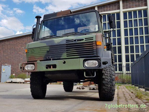 Unimog U1300L als 2-t-Pritsche der Bundeswehr