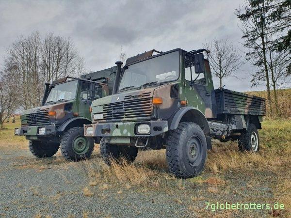 Unimog U 435 - U 1300 L der Bundeswehr kaufen VEBEG-Angebot