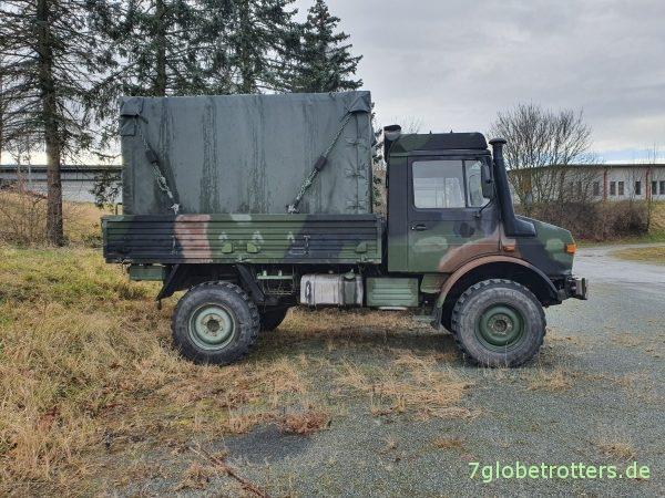 Unimog U 435 - U 1300 L der Bundeswehr kaufen, Zeppelin FM1