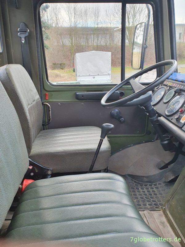 Unimog U 435 - U 1300 L der Bundeswehr kaufen, kleines Fahrerhaus