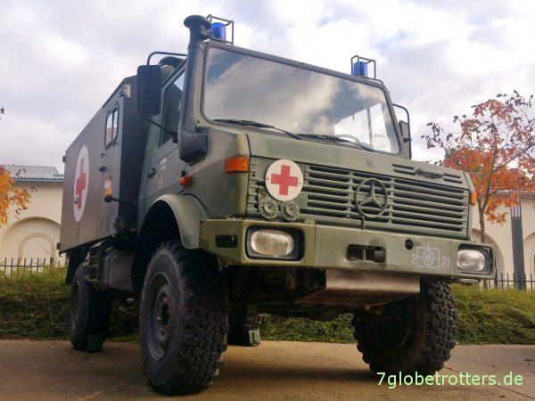 Unimog U1300L als Krankenwagen der Bundeswehr