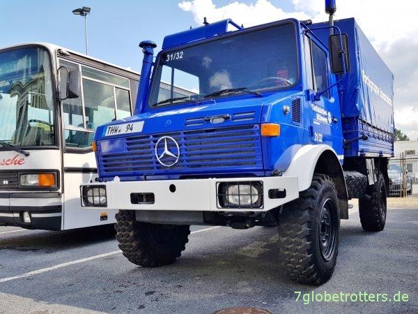 Unimog U1300L THW kaufen, blauer U435