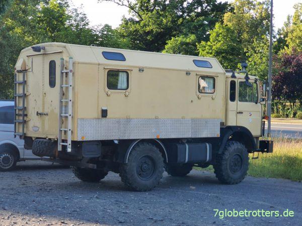 IVECO 110-17 AW 4x4 der Bundeswehr mit KUNG-Koffer