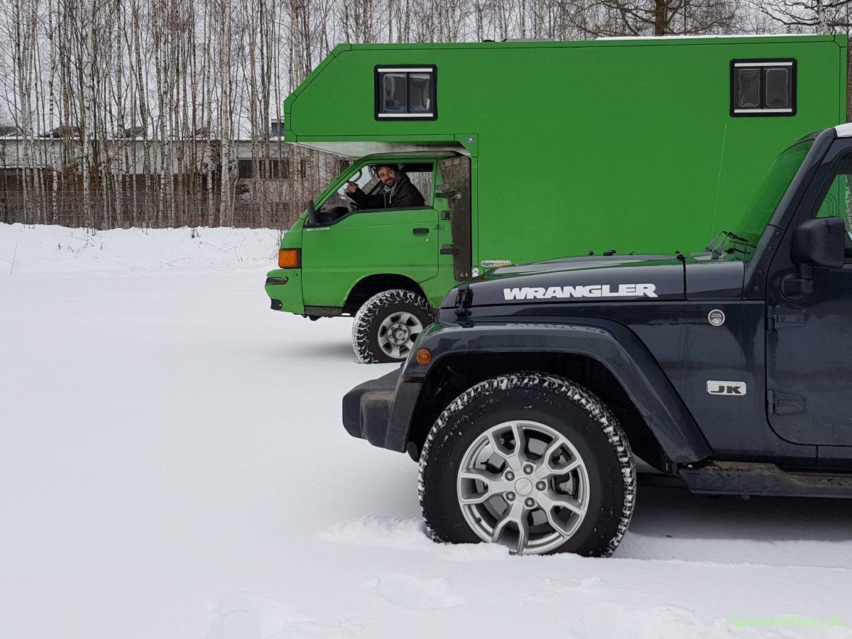 ᐅ Expeditionsmobil unter 8,8 Tonnen: Mitsubishi L800 Allrad
