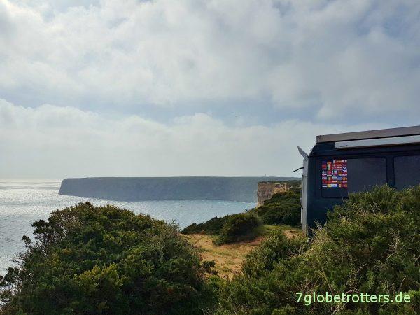 Cabo de São Vicente: Stürmisches Südwestkap Portugals und Europas