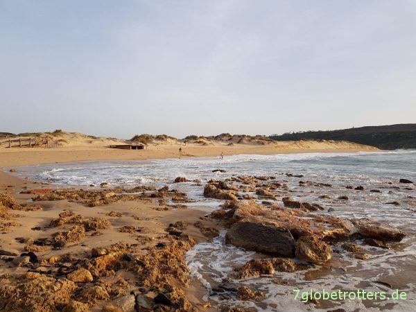 Costa Alentejana im Südwesten Portugals: Strand-Surfen mit dem Wohnmobil