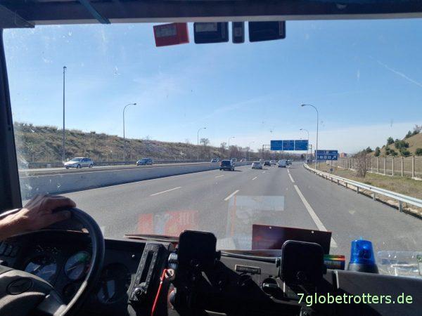 Mit dem Wohnmobil mautfrei durch Spanien nach Portugal