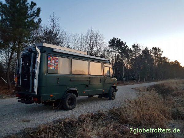 Diesel alle, Dieselleitung entlüften, Dieselpreise in Luxemburg, Fahren ohne Stoßdämpfer
