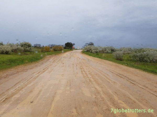 Winter an der Algarve, Wetter und Vanlife in Südportugal