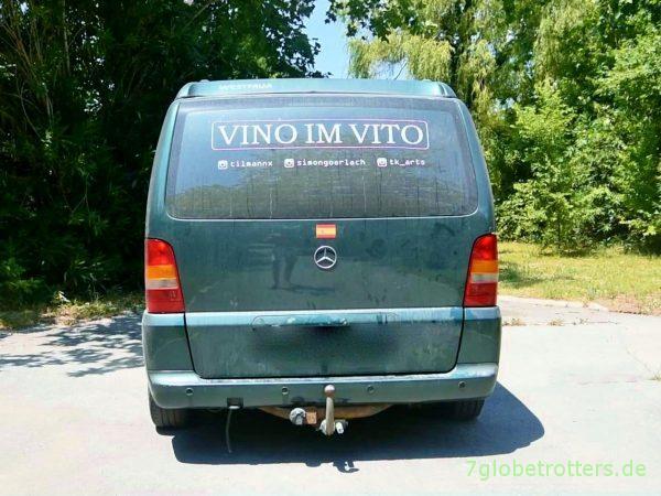 Unser Vito Camper wird zum Filmstar
