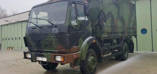 Mercedes-Benz 1017 A (NG), Plane Pritsche der Bundeswehr