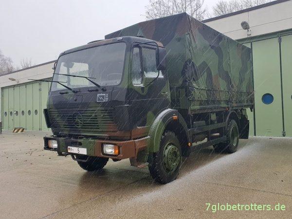Mercedes 1017 Allrad (NG), Plane Pritsche der Bundeswehr