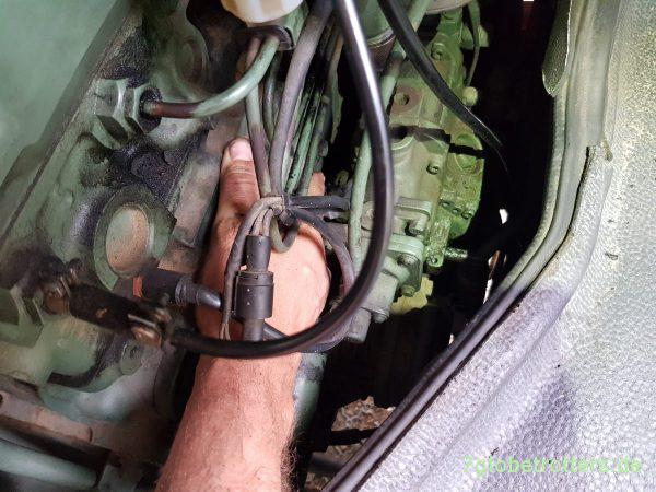 OM 364 zieht nicht richtig: Vollgasstellung und Dieselzufuhr prüfen