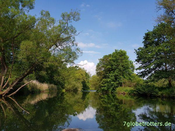 Wasserwandern nach Cottbus, Paddeln, Wehr, Umfluter Neuhausen, Mühlgraben Kutzeburg, Nutrias, Aussetzstelle