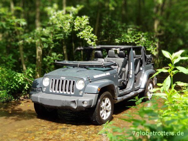 Frontstoßstange am Jeep demontieren und ausbeulen, JK front bumper repair