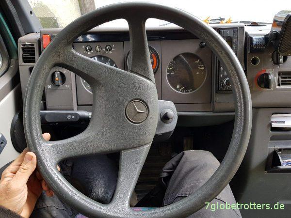 Lenkmanschetten wechseln, Lenkschubstange Febi, Mercedes 711, T2LN1, Vario