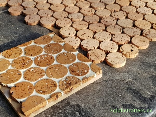 Fußbodendämmung im Wohnmobil mit Kork: Fußbodenaufbau für Winter-Isolation im Camper