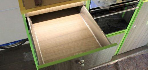 Möbelbau im Expeditionsmobil: Auszüge