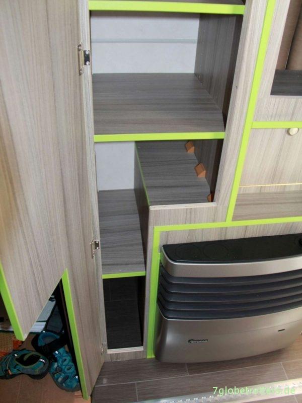 Möbelbau im Wohnmobil: Kleiderschrank
