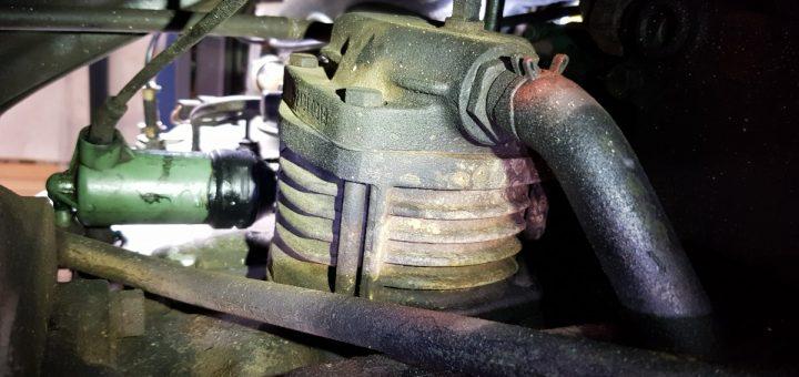 Unterdruckanlage Mercedes T2-LN1 Baumuster 669 prüfen: Luftpresser