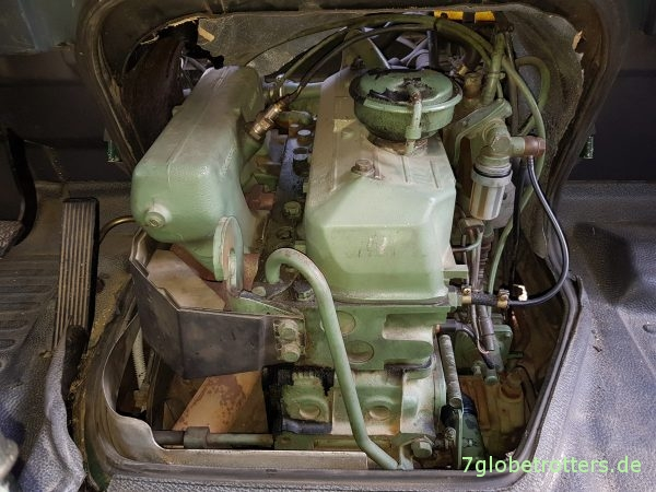 Unterdruckanlage Mercedes T2-LN1 Baumuster 669 prüfen