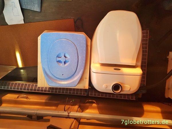 Komposttoilette als Bausatz zum selber bauen, Erfahrungen mit dem Trennsystem
