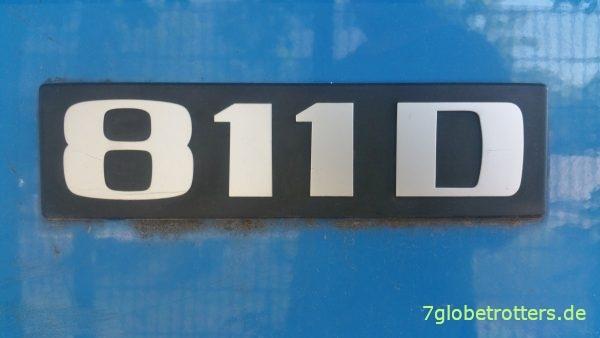 Mercedes T2-LN1, MB 811 D