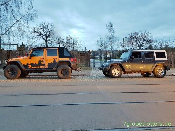Umbereifung Jeep Wrangler JK und JL: Sinnvolle Winterreifen All Terrain auf Originalfelge