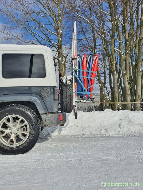 Heck-Skiträger Jeep Wrangler