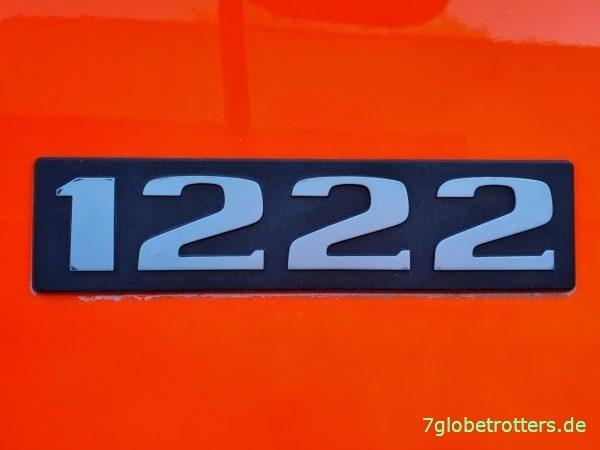 Mercedes MB 1222 AF Typkennzeichen