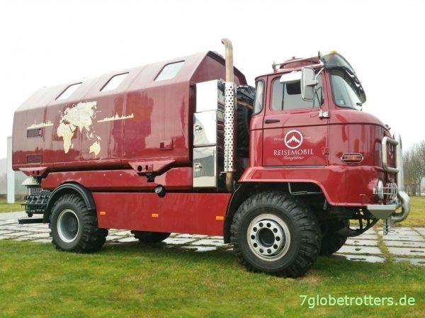 IFA L60 Reisemobil mit LAK2 und Highpipes