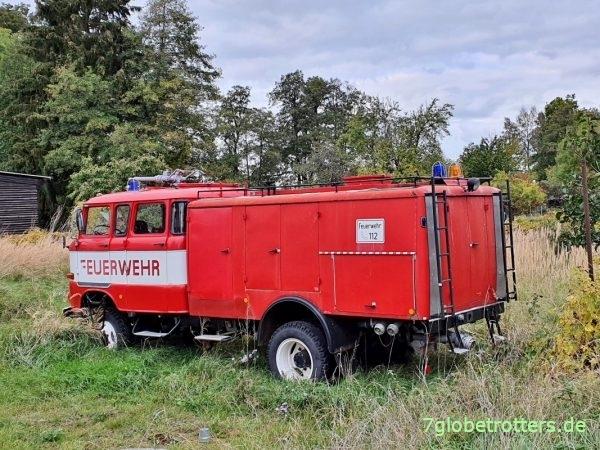 IFA W50 Feuerwehr mit Doka