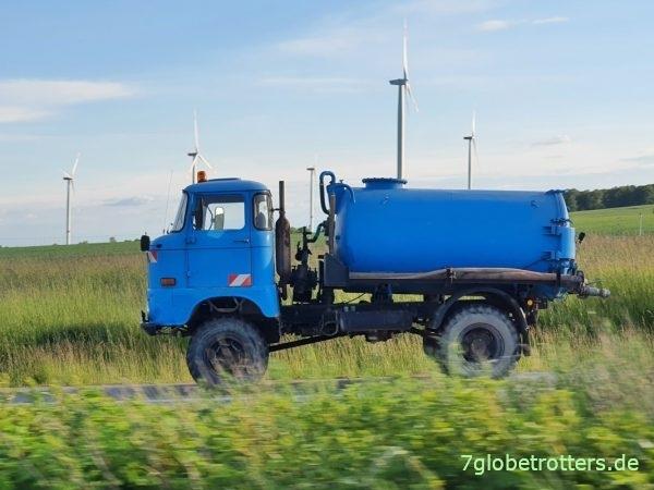 IFA W50 LA 4x4 Wasserwagen