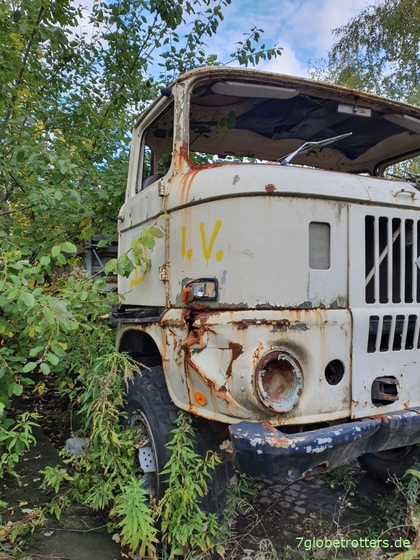 IFA W50 LA, vom Kipper zum Expeditionsmobil