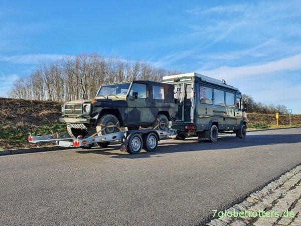 Führerschein CE für das Fahren mit PKW-Anhänger am schweren Wohnmobil