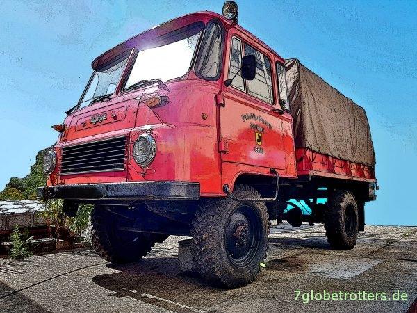 Zugelassener Robur LO 2002 AKF/LF8-TS8 einer Freiwilligen Feuerwehr