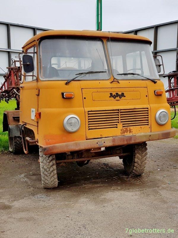 Robur LO 2002 A Landwirtschaft, Spurstange vor der Achse